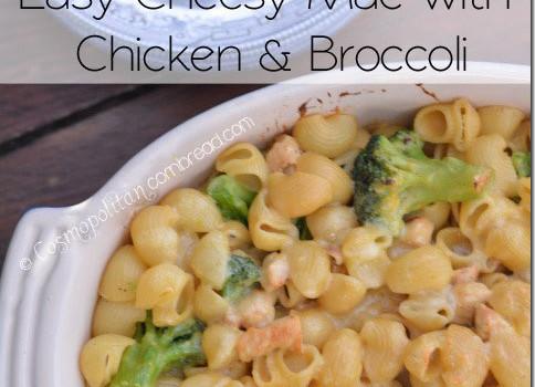 Easy Cheesy Mac with Chicken & Broccoli | #WeekdaySupper