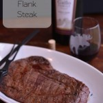 Marinated Flank Steak for our Father's Day Feast #SundaySupper