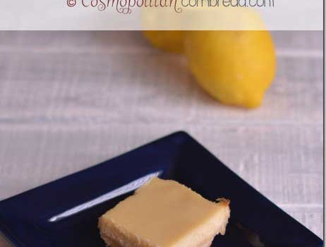 Lemon Ricotta Bars | #SundaySupper