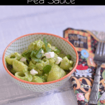 Pasta with Pea Sauce | #WeekdaySupper #ChooseDreams