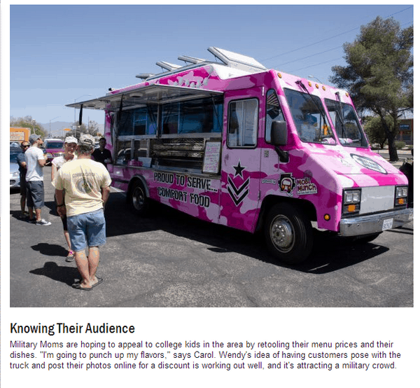 Food Trucks & #MilitaryMoms