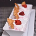 Raspberry Fools from The Foodie Army Wife