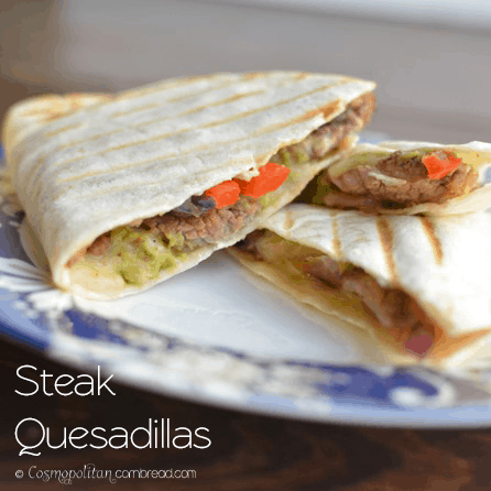 Steak Quesadillas #WeekdaySupper