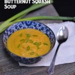 Butternut Squash Soup & a Crockpot Giveaway!