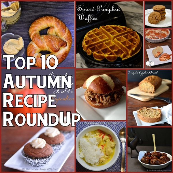 Top 10 Autumn Recipe Round-Up