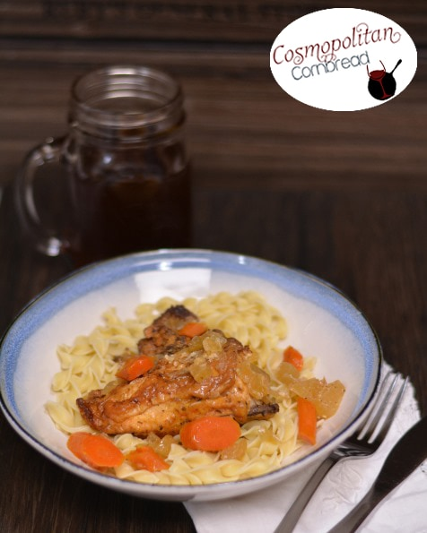 Slow Cooker Chicken Fricassee from Cosmopolitan Cornbread