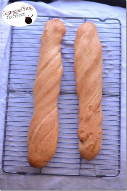Homemade French Bread from Cosmopolitan Cornbread