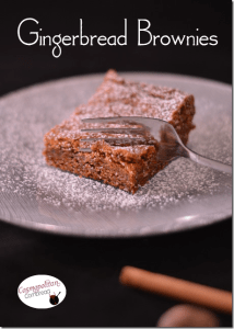Gingerbread Brownies from Cosmopolitan Cornbread
