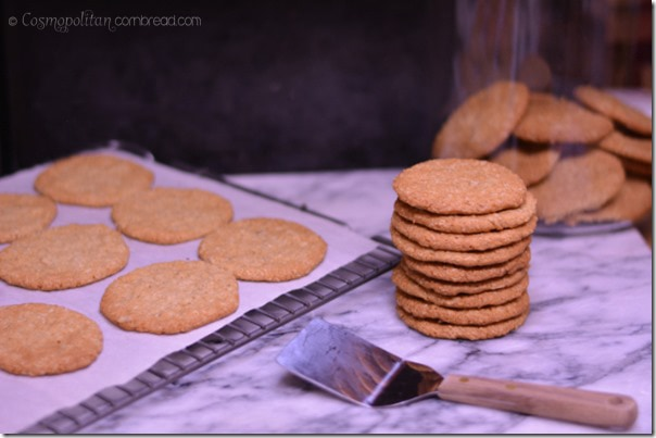 Oatmeal Refrigerator Cookies from Cosmopolitan Cornbread