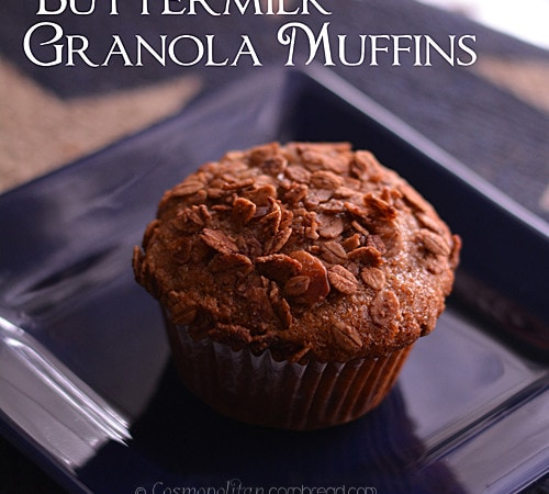 Buttermilk Granola Muffins