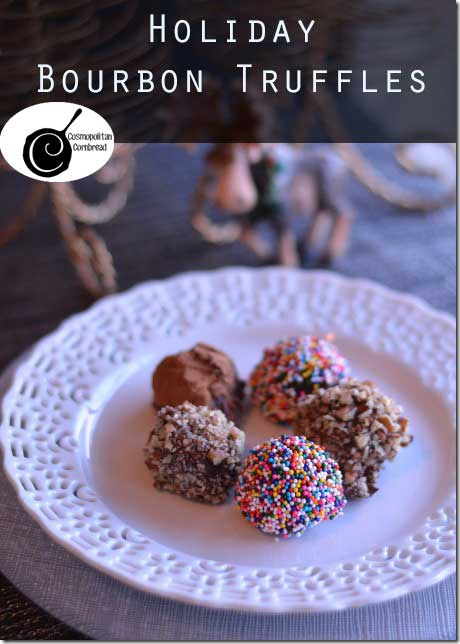 Holiday Bourbon Truffles - they may look sweet and innocent, but look ...