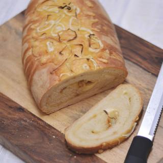 Swiss Onion Bread | #SundaySupper