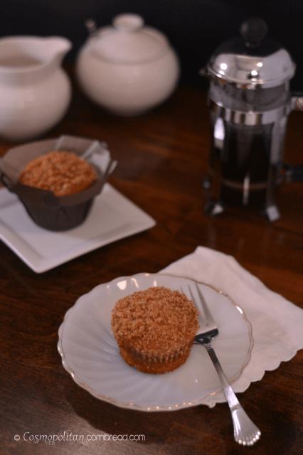 Bourbon Banana Crumb Muffins by Cosmopolitan Cornbread 1