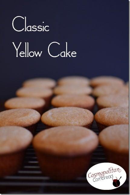 Classic Yellow Cake from Cosmopolitan Cornbread