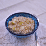 Apple Pie Oatmeal | #SundaySupper