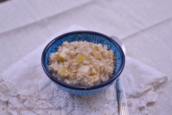 Apple Pie Oatmeal from Cosmopolitan Cornbread r2