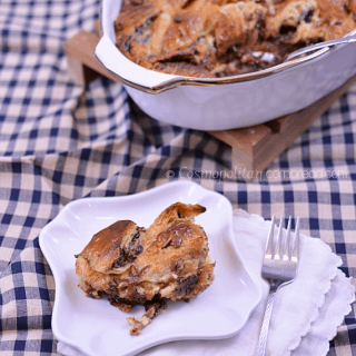 Nutella Bread Pudding from Cosmopolitan Cornbread