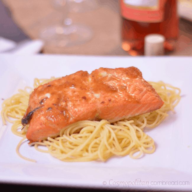 Thai Sweet Chili Glazed Salmon from Cosmopolitan Cornbread