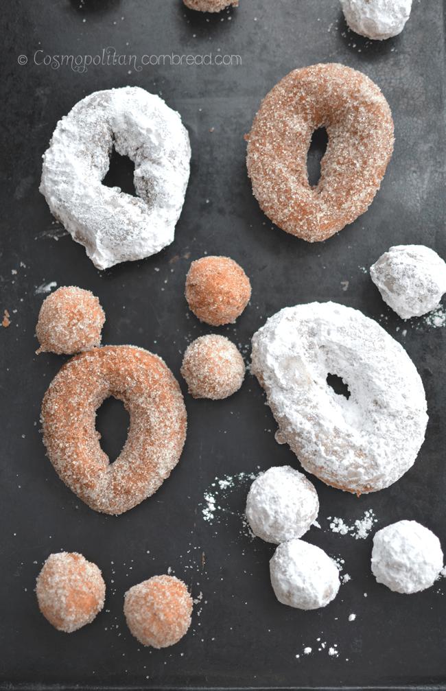 Homemade Doughnuts | #SundaySupper