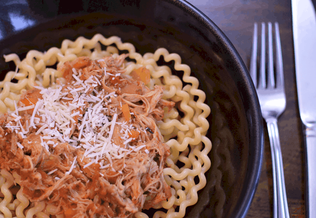 Slow Cooker Pork Ragu | #WeekdaySupper