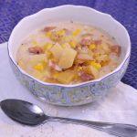 Ham and Corn Chowder | #SundaySupper