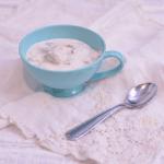 Blueberry Cheesecake Ice Cream | #SundaySupper