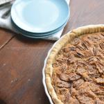Turtle Bourbon Pecan Tart - Cosmopolitan Cornbread