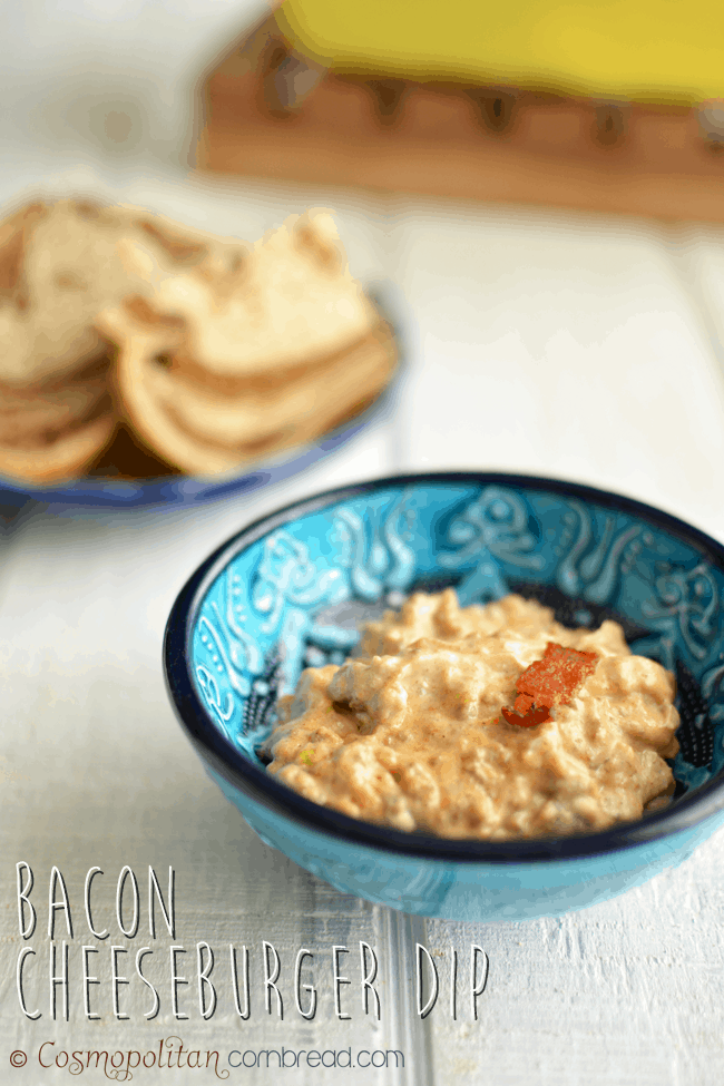 Bacon Cheeseburger Dip | #SundaySupper