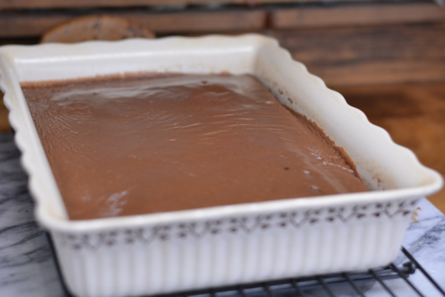 Double Chocolate Fudge Coca-Cola Cake - a Cracker Barrel Copycat recipe from Cosmopolitan Cornbread