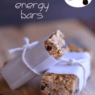 Homemade Energy Bars from Cosmopolitan Cornbread