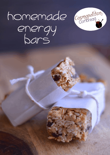 Homemade Energy Bars | #SundaySupper