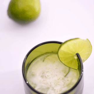 Lime in the Coconut Caipirinha | #SundaySupper