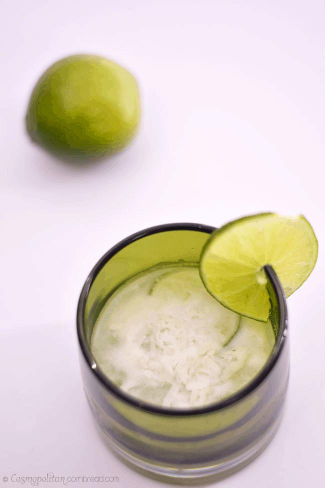 Lime in the Coconut Caipirinha | #SundaySupper