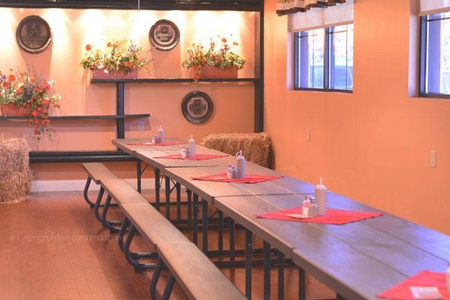Hildegard's Biergarten in Huntsville, Alabama - Cosmopolitan Cornbread