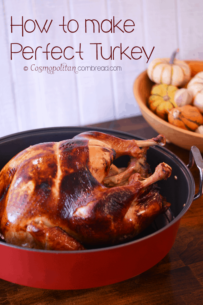 How to make Perfect Brined & Roasted Turkey from Cosmopolitan Cornbread
