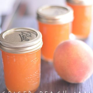 Preserve the Harvest with this Spiced Peach Jam from Cosmopolitan Cornbread
