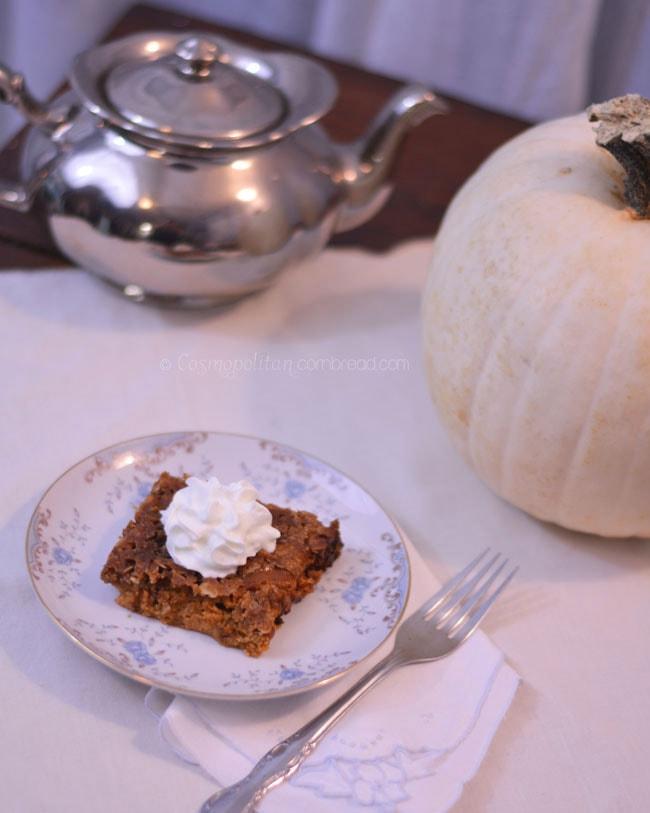 Pumpkin Crisp from Cosmopolitan Cornbread