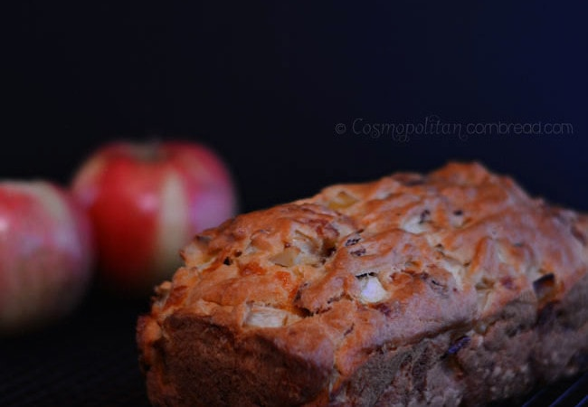 Chunky Bacon & Apple Cheddar Bread