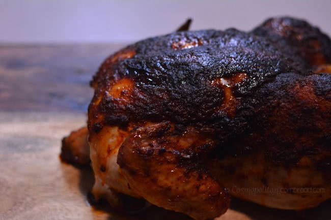 How to make Smoked Paprika Roasted Chicken - from Cosmopolitan Cornbread