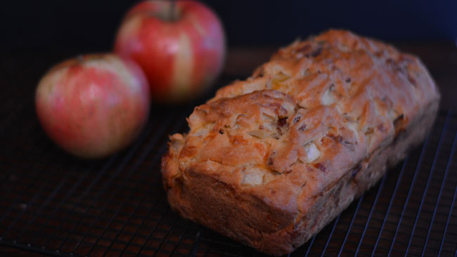 Chunky Bacon & Apple Cheddar Bread from Cosmopolitan Cornbread