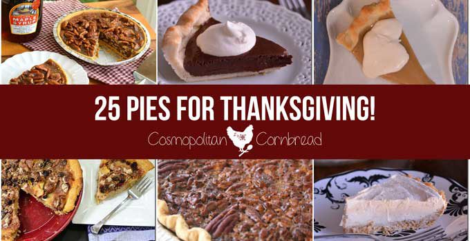 25 Pie Recipes for a Thanksgiving Pie-lapalooza!