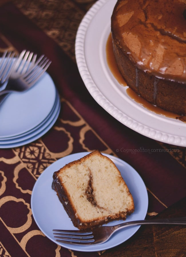 Cinnamon Spice Coffee Cake | #SundaySupper
