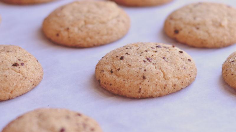 Espresso Snickerdoodles | #Cookielicious