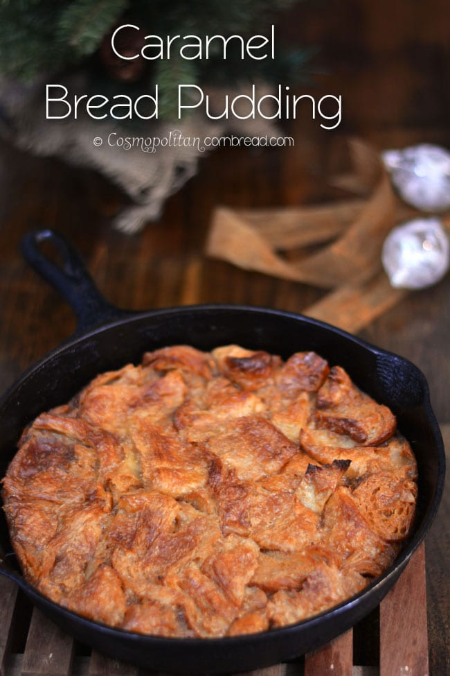 Heavenly Caramel Bread Pudding is a decadent dessert that you will ...