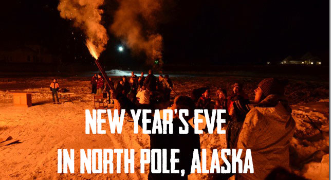New Year's Eve in Alaska