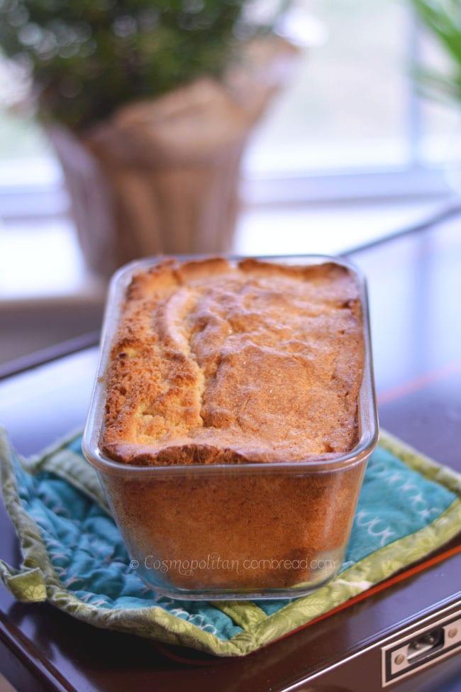 Simple and elegant Madeira Cake. Get the recipe from Cosmopolitan Cornbread