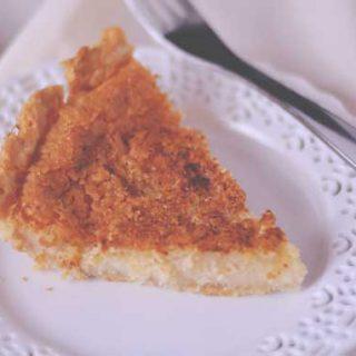 How to make Dutch Sugar Cream Pie (also called Hoosier Pie) from Cosmopolitan Cornbread