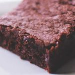 Rich and moist Deep Dark Espresso Brownies from Cosmopolitan Cornbread