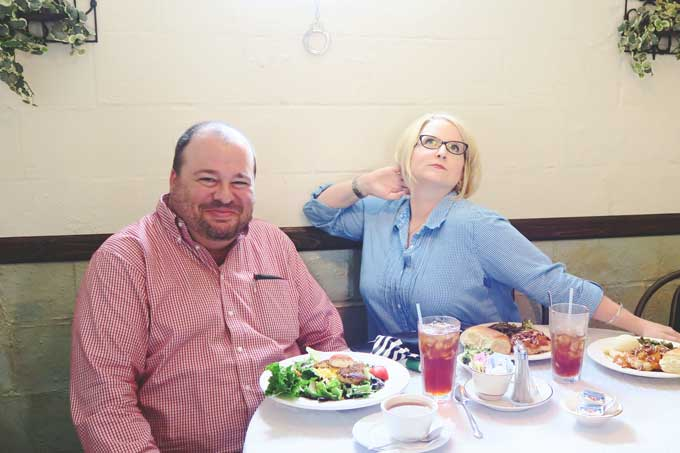 Main Street Cafe in Madison, Alabama | Lunch with friends from Cosmopolitan Cornbread