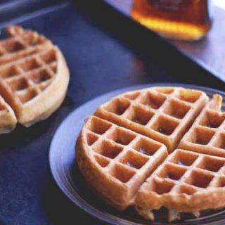 How to make delicious Bacon Waffles from Cosmopolitan Cornbread